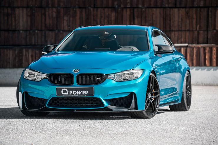 G Power представил 600 сильный спорткар Bmw M4